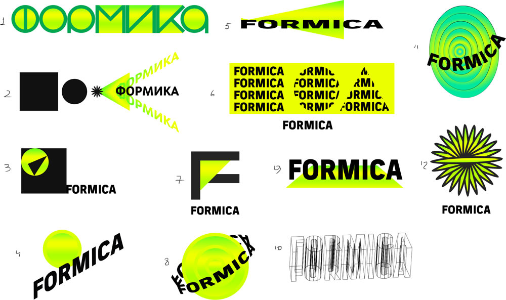The making of the Formica logo