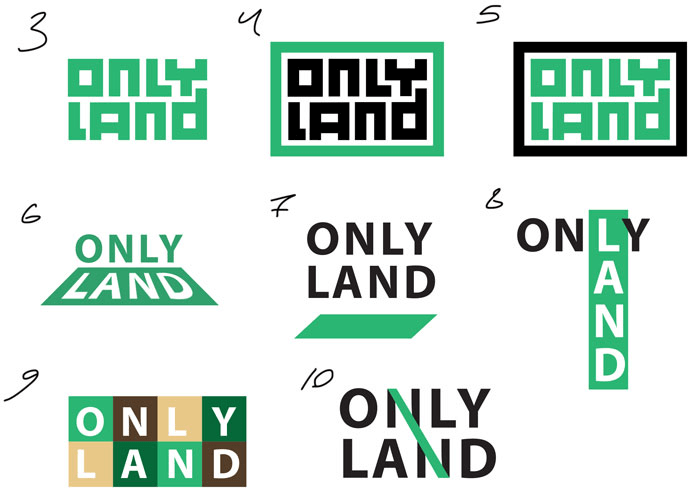 only land process 02