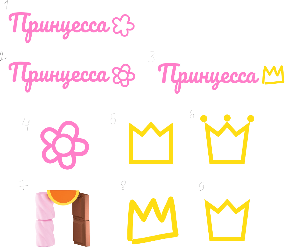princesses process 01