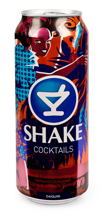 Напиток слабоалкогольный Шейк дайкири жестяная банка 0,5 л.