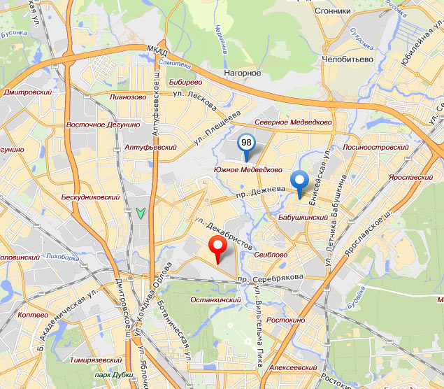 the making of the new pins for yandex maps