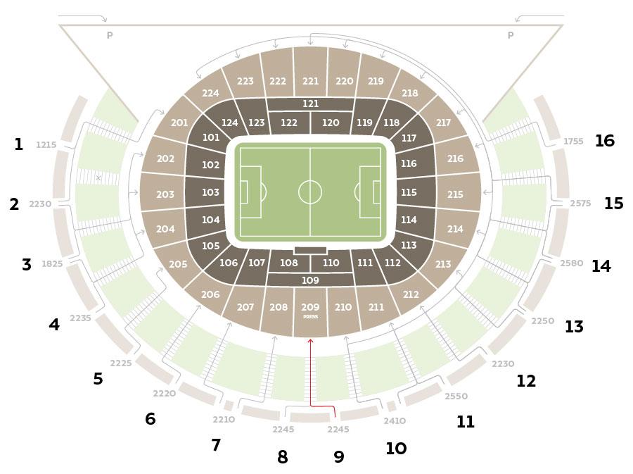 Fc Krasnodar Stadium Navigation