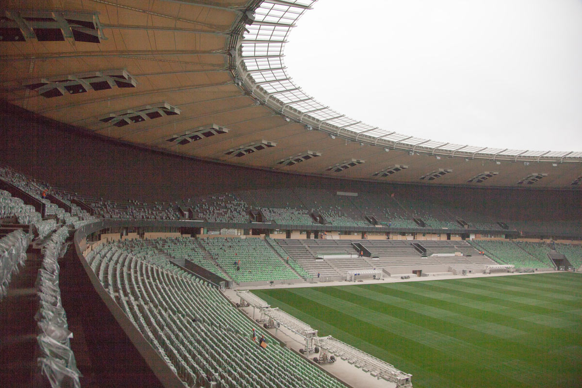 The Making Of Fc Krasnodar Stadium Navigation