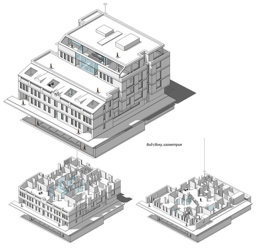 The Making Of The Innova Illustrated Isometric Office Plan