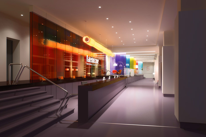 kaleidoscope studio of interior design layout