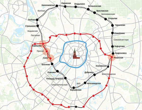 The Making Of The Moscow Metro Map - Us metro map
