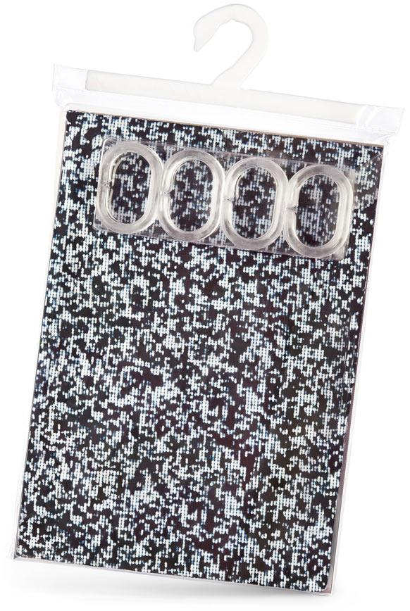 White Noise Shtorkus Bath Curtain Package Design