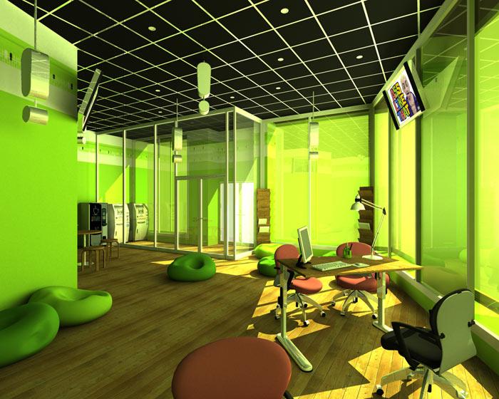 Office Interior Design For Soyuzniсk Bank