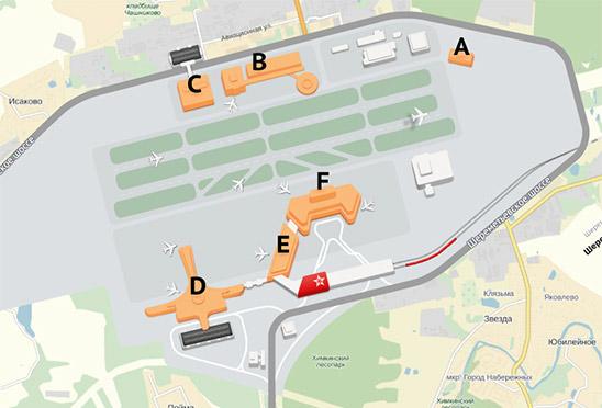 The Making Of The Sheremetyevo Airport Maps