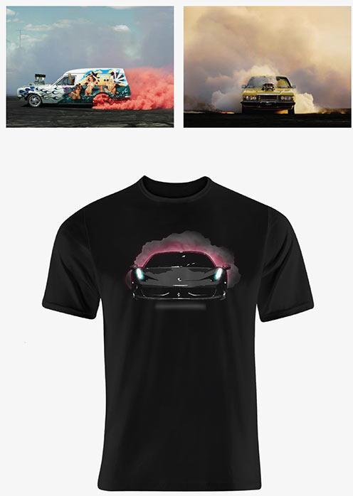 The Making Of Unlim Festival Tshirts - Car show t shirt design ideas