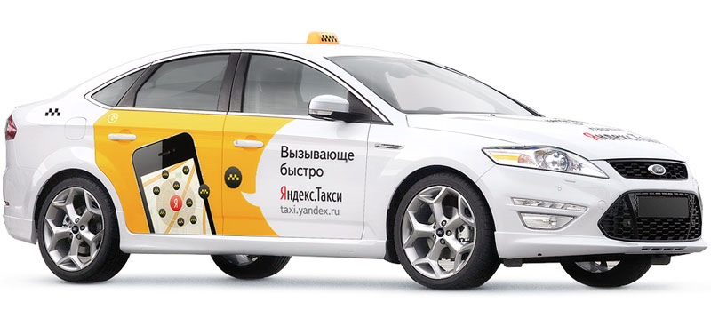 Chevy Spark Uber >> Yandex.Taxi advertisement on cars