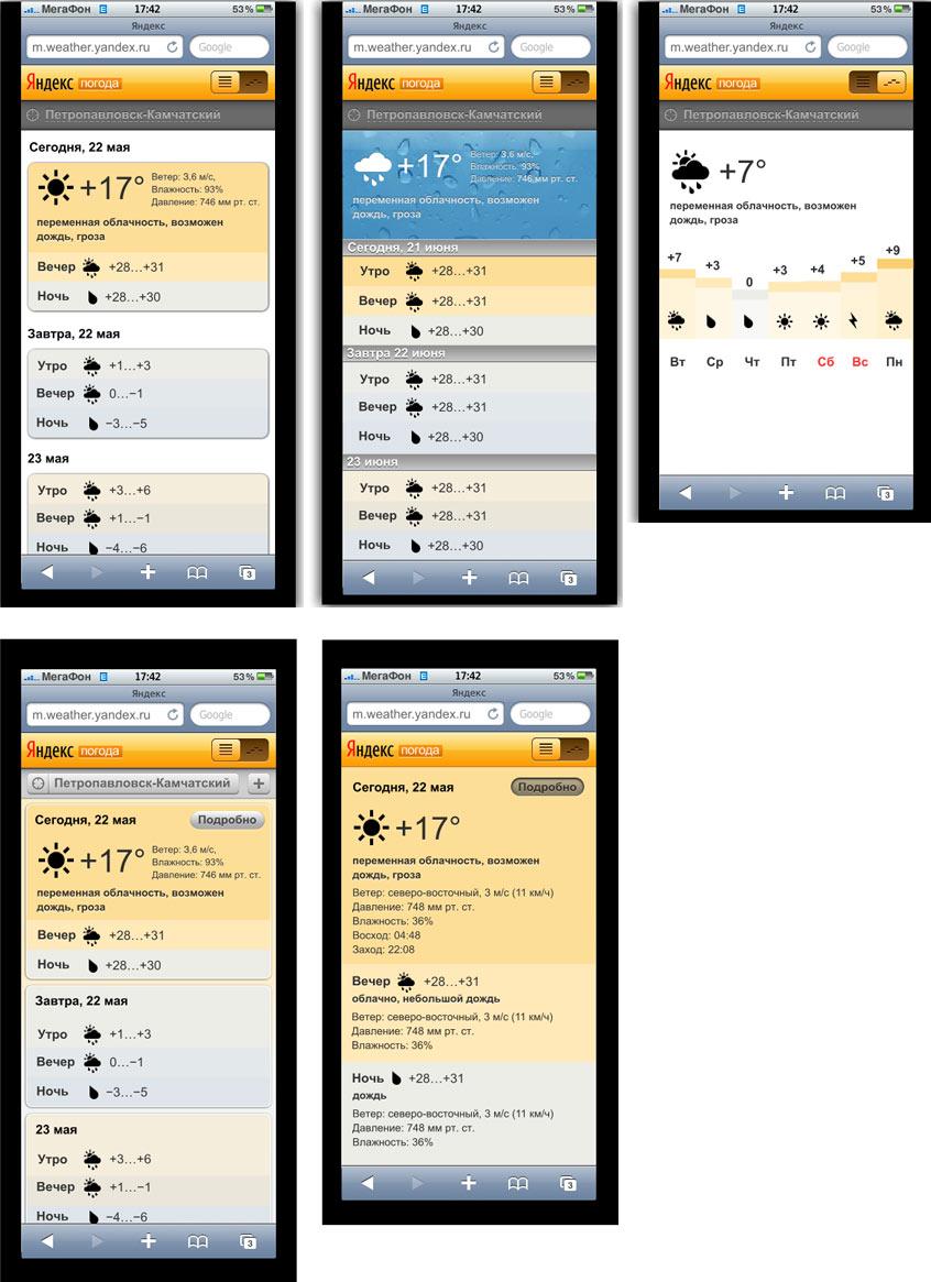 Андроид яндекс погода для